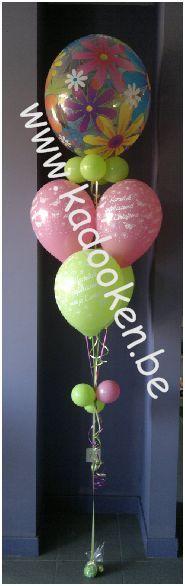 Heliumballon, Lentefeest, ballon, decoratie, versiering, aankleding