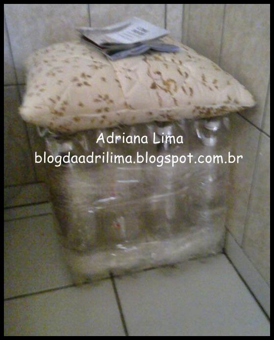 puff de garrafa pet http://blogdaadrilima.blogspot.com.br/