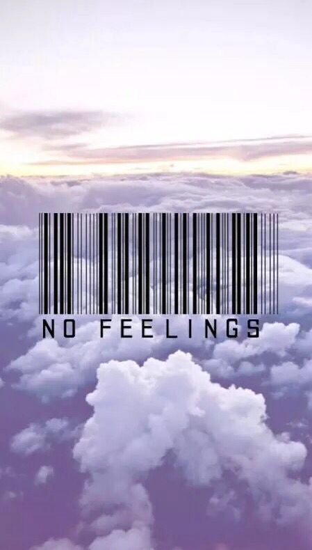 barcode no feelings, sunrise, clouds