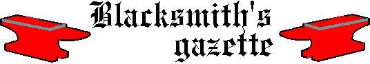 Blacksmith's Gazette