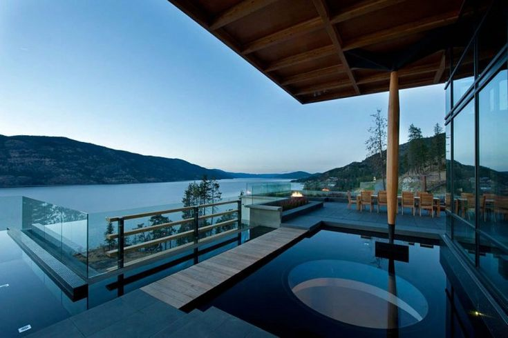 Custom Home in BC by David Tyrell Architecture.