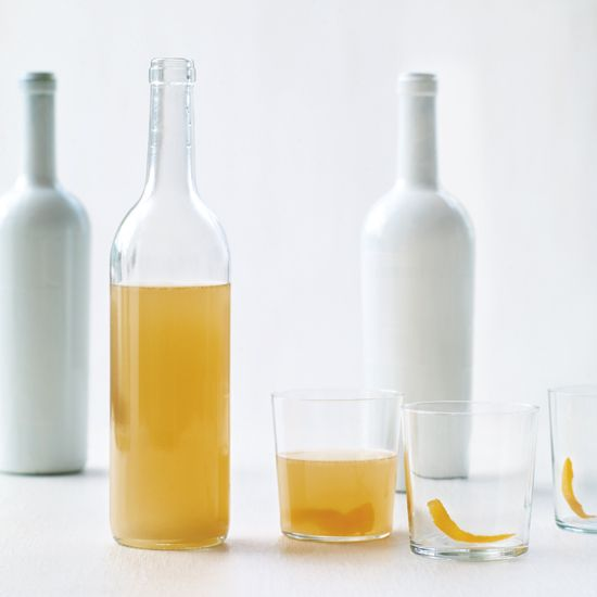 Philly Fish House Punch | Bartenders mix batches of cocktails like this potent Fish House Punch, transfer them into empty wine bottles, then let patrons pour drinks for themselves.