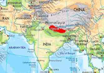 Where Is Kathmandu Nepal On A World Map