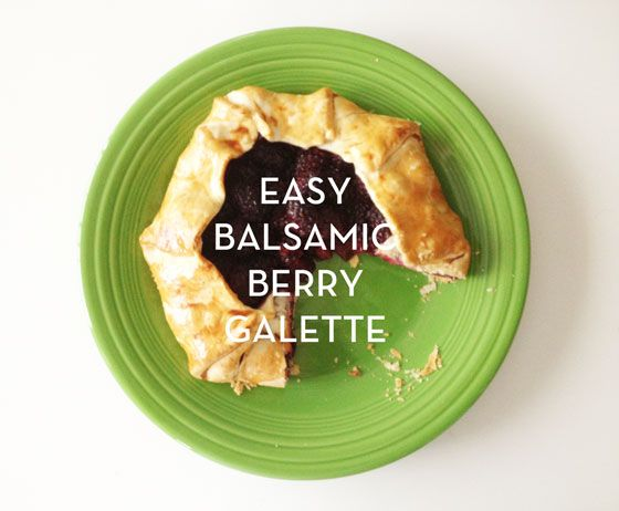 balsamic berry galette: Recipe Boxes, Design Crushes, Balsamic Berrygalett, Things Food, Recipes, Easy Balsamic Berries Galette, Galette Design