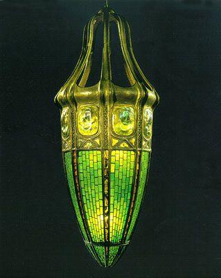 Светильник «Черепаший панцирь», 1901 год.