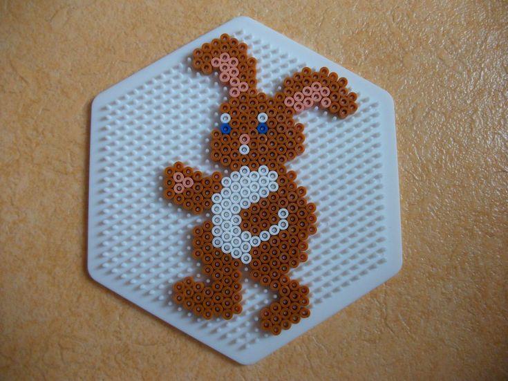 Image - Perle Hama lapin de Pâque 1 - Blog de mes-petites-creations-13 - Skyrock.com
