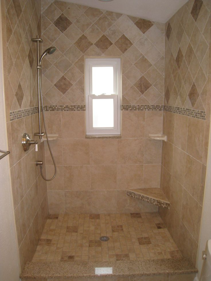 Shower tiles by the Home Improvement Source