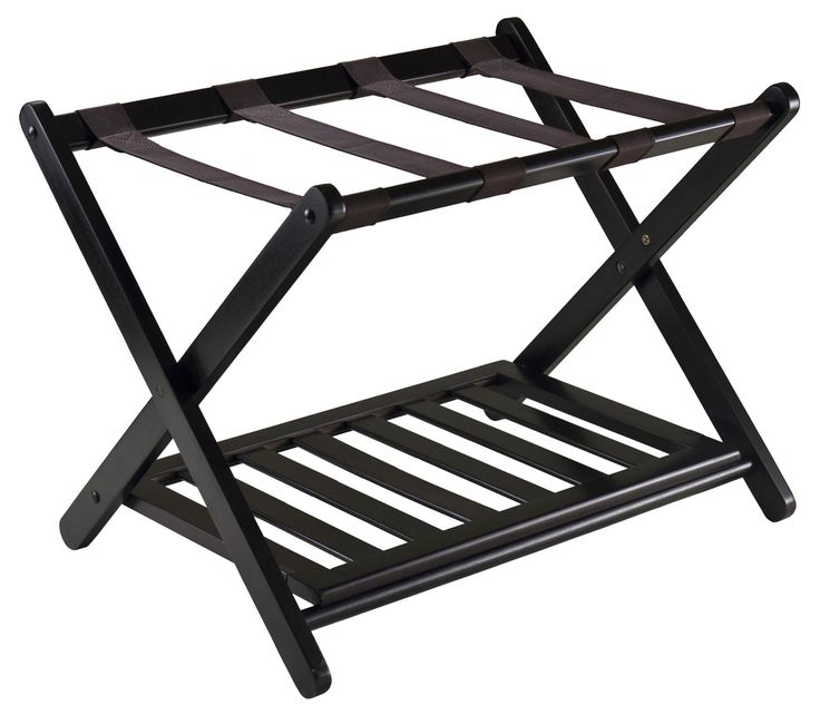 Good Winsome Reese Luggage Rack U0026 Reviews | Wayfair GREAT For Guest Bedroom  Accessory