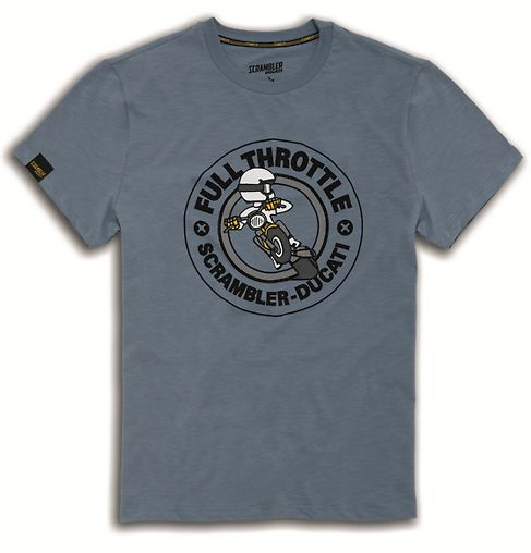 T-shirt Ducati RUMBLE SCRAMBLER #ducati #scrambler