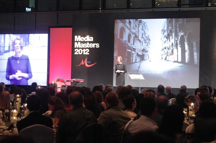 Talk at the Mtel event in Bulgaria. Bulgaristan'da Mtel etkinliğinde konuşma...