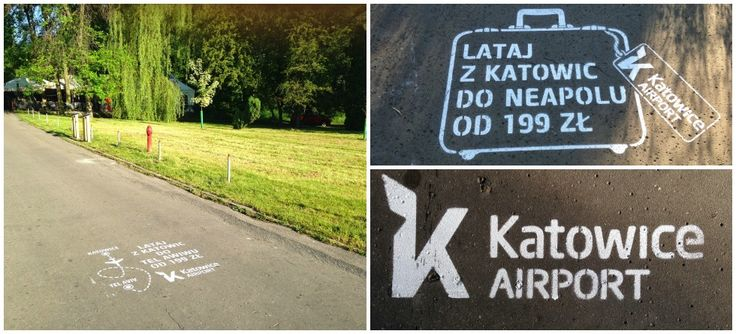 Milk Graffiti for Katowice Airport