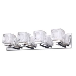 home hardware 4 light chrome nevada vanity light fixture