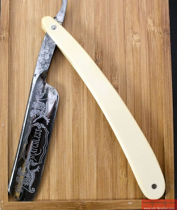 Matchless Wolfius Solingen Rasiermesser ,straight razor, coupe choux, massive