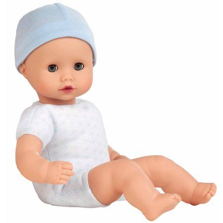 "Free Shipping. Buy Gotz Muffin to Dress 13"" Soft Body Boy Baby Doll with Blue Sleeping Eyes at Walmart.com"