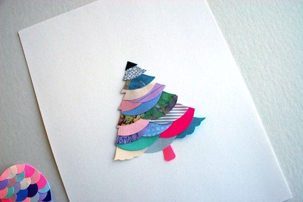 Essimar.Christmas Cards, Ideas, Christmas Decorations, Paper Scrap, Diy, Paper Trees, Christmas Trees, Xmas Cards, Crafts