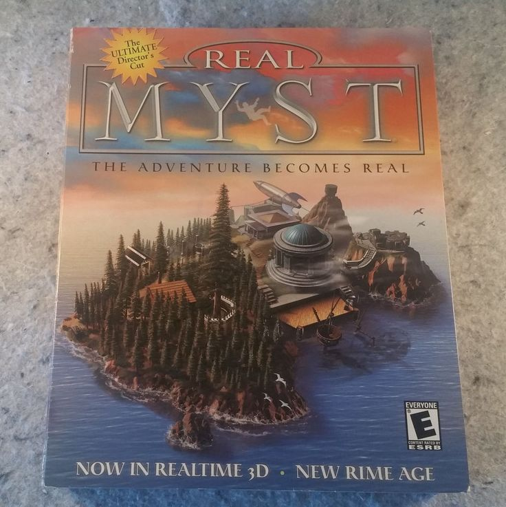 Real Myst PC Big Bix Sealed New Never opened Excellent box Game .......