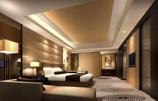 Contemporary Lighting Ideas For A Modern Bedroom Design | Visit and follow homedesignideas.eu for more inspiring images and decor ideas