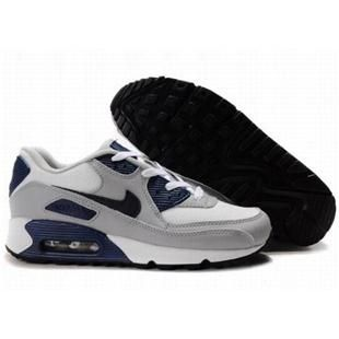 Air Max 90 shoes-Cheap Men's Nike Air Max 90 White/Grey/Dark Blue 90 For  Sale from official Nike Shop.