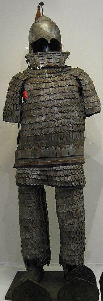 Historic Korean Lamellar Armor