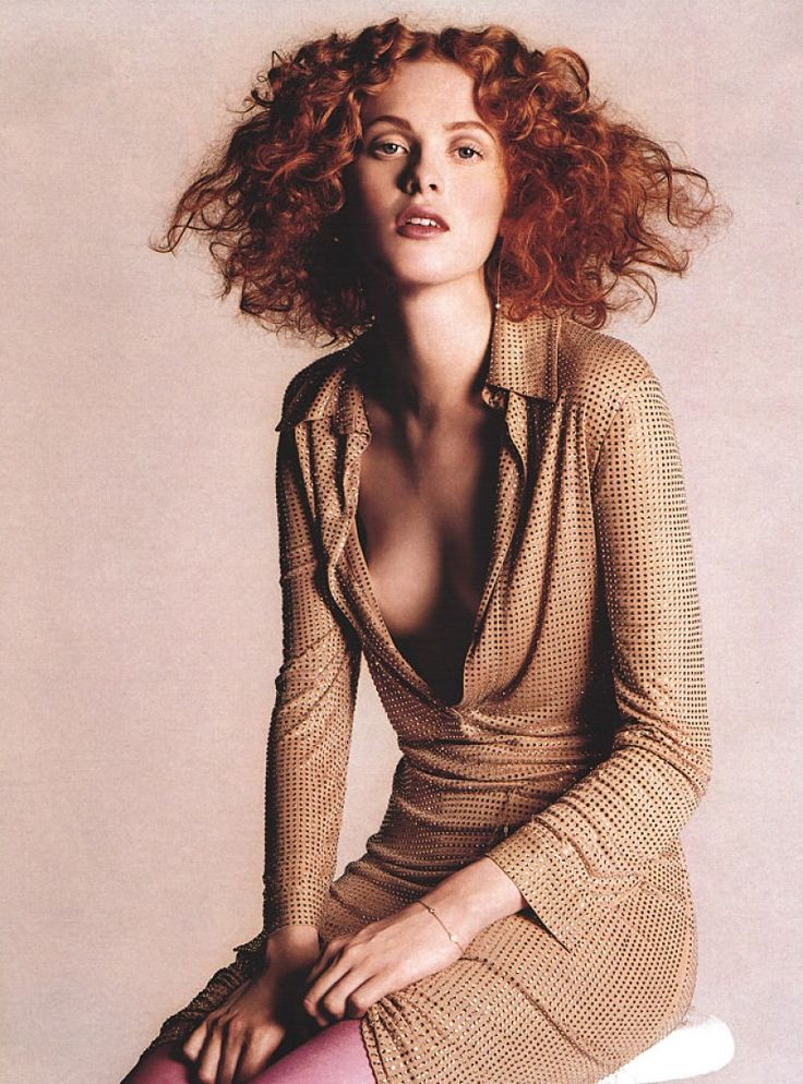 Vogue Editorial March 2000 - Karen Elson by Michael Thompson                                                                                                                                                                                 More