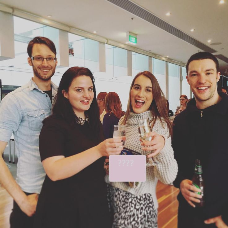 """""""The editorial team toasting the launch of the brand new glossy realo mag. We are absolutely stoked with the finished product, and can't wait for you all…"""""""