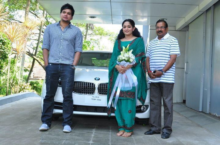Malayalam Actors with their Wheels-Mammootty,Mohanlal Cars Kavya Madhavan with her BMW F10 520D-1611