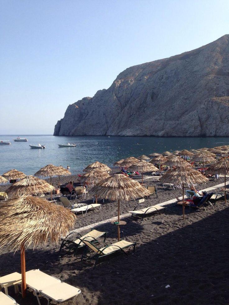 Kamari Beach - Kamari, Santorini