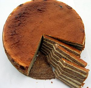 Kue Lapis legit ( Spekkoek)