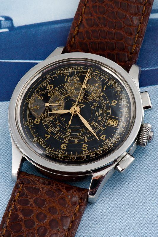 Montre Tissot. Chronographe Limited Edition - Pilote Janeiro 3333...   Argus des Montres