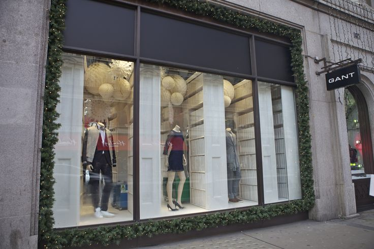It is all about the detail at Gant in #RegentStreet this #Christmas.