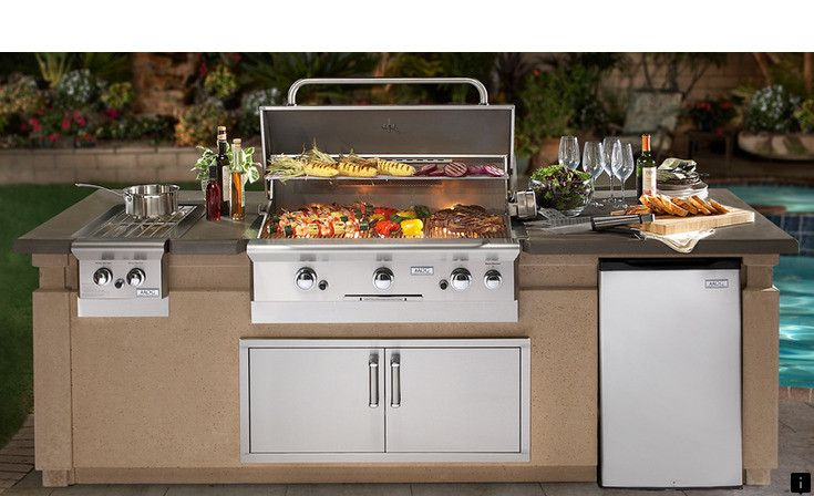 Click On The Link For More Island Grill Check The Webpage For More Information Outdoor Kitchen Countertops Built In Outdoor Grill Outdoor Kitchen