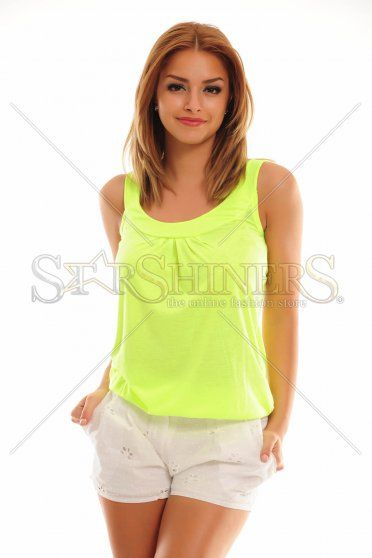 Distinct Essence Green Top Shirt
