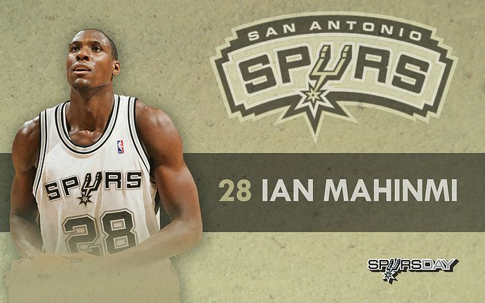 "Ian Mahinmi is a French professional basketball player who currently plays for the Indiana Pacers of the NBA. At 6'11"" and 230 lbs, he plays the center position. He was drafted with the 28th overall pick in the 2005 NBA Draft by the San Antonio Spurs.  #basketball #spurs #ian #NBA"