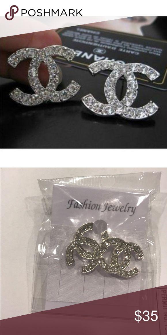 chanel earrings price. earrings super cute!! these are dupes for the chanel earrings! price reflects that a