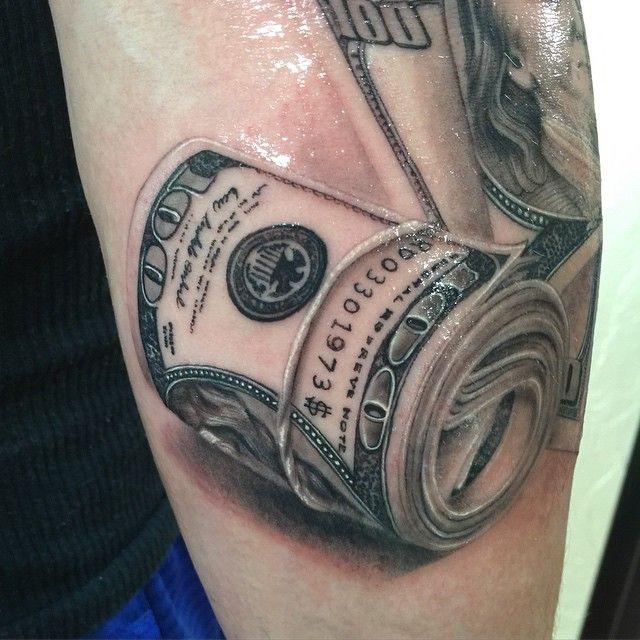 awesome Top 100 money tattoos - http://4develop.com.ua/top-100-money-tattoos/