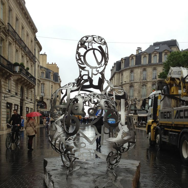Sculpture monumentale de Jaume #Plensa à #Bordeaux   #stationausone #artcontemporain #artpublic  VOIR LA VIDEO >>> http://www.youtube.com/watch?v=PSwQGcEjjUk