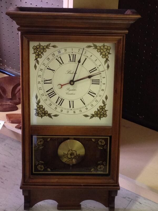 #TBT to this beautiful wall clock featured in our monthly stores auction! Don't miss out next auction; check out upcoming dates and times here: http://ccs4u.org/shopping/