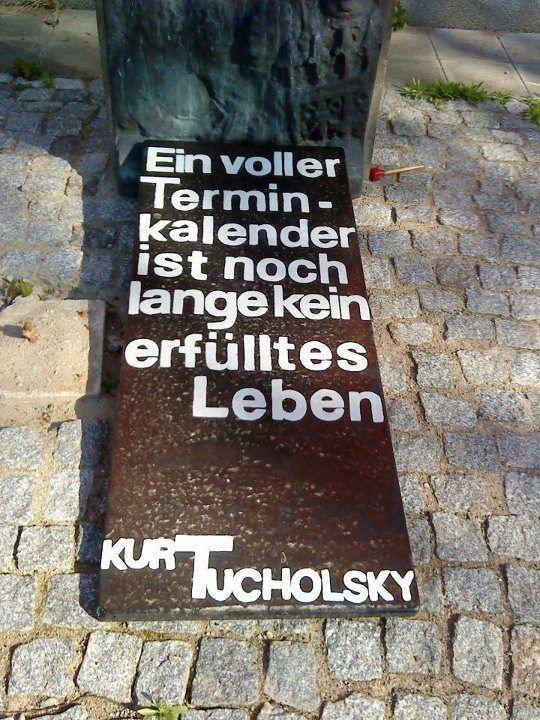Kurt Tucholsky - erfülltes Leben