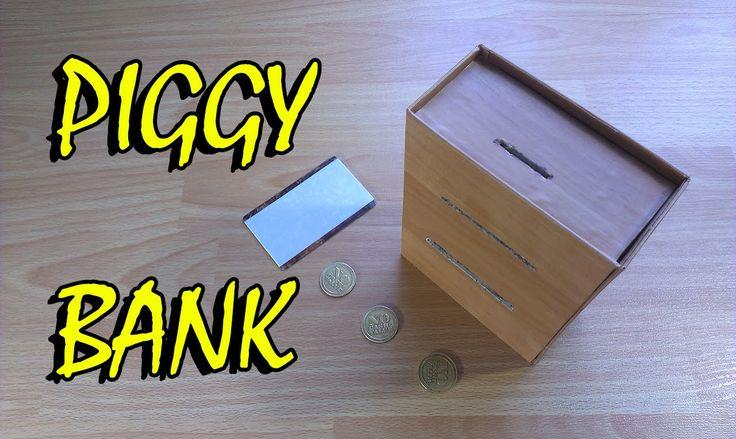 Как сделать машину Piggy Bank ATM за наличные игрушки