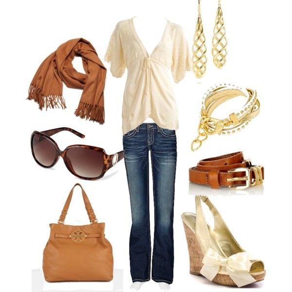 I found a scarf this color at TJ Maxx and I already have jeans and a similar shirt......I just need shoes like this! Love it http://media-cache7.pinterest.com/upload/259519997247131445_BOkyfmRr_f.jpg katieintn dahling you look fab 1