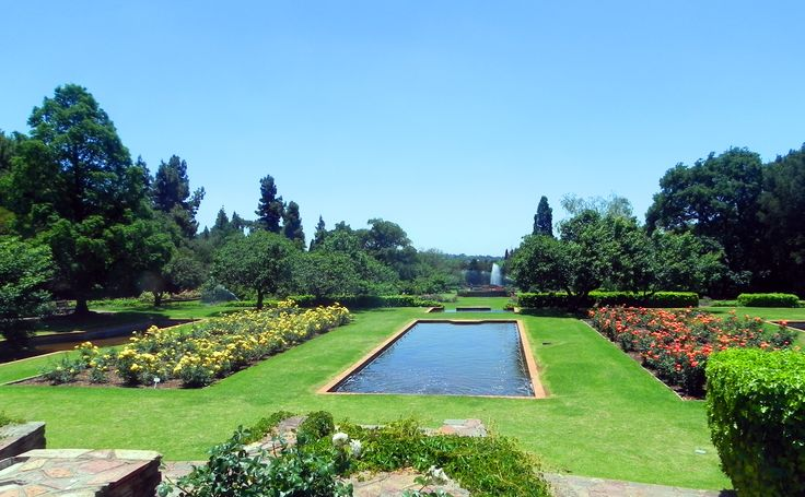 Johannesburg Botanical Gardens in Randburg, IGauteng
