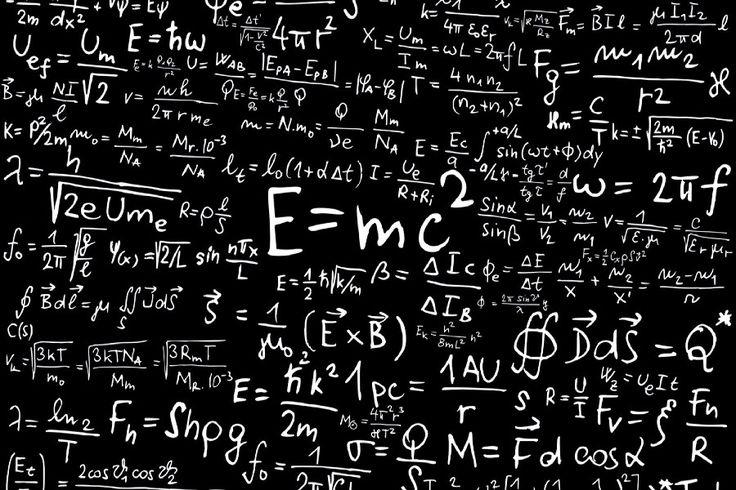 """Науки Альберт Эйнштейн Формула Математика Физика Специальная теория относительности искусства плакат Печати Водонепроницаемый Декор 12 """"x18"""" Обычай Печатать купить на AliExpress"""