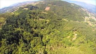 tirolina pena aventura - YouTube
