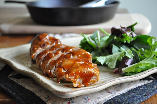 ... Pork Loin with Spicy Apricot Glaze | Foodies | Pinterest | Pork Loin