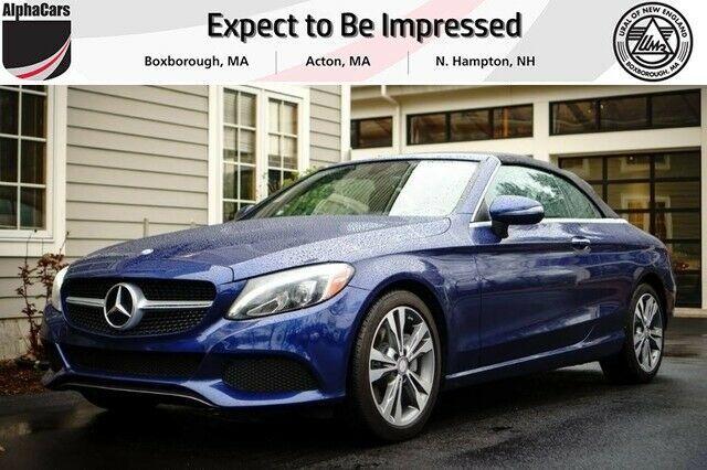 Ebay Advertisement 2017 C Class 4matic Cabriolet 2017 Mercedes