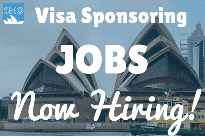 Looking for a job in Australia to sponsor your visa? Here's a list of companies currently hiring.