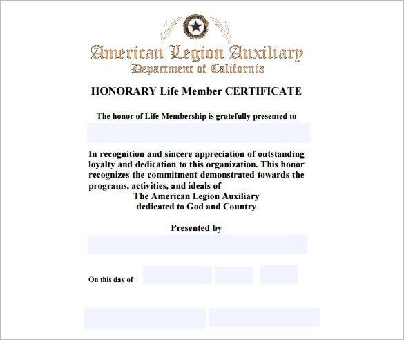 10 Membership Certificate Templates
