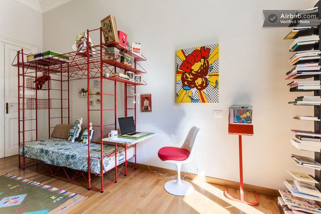 Design room, private bathroom, WiFi in Rome
