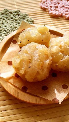 Onion Shumai 玉ねぎだけで絶品!もちもち皮なし焼売                                                                                                                                                      もっと見る