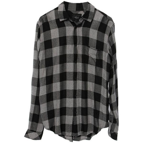 Rails Men's Lennox Button Down Shirt (955 BOB) ❤ liked on Polyvore  featuring men's